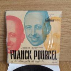 Discos de vinilo: FRANK POURCEL Y SU ORQUESTA DE CUERDA Nº 1. CAMINO DE OTOÑO. EP / AÑOS 50. ***/***. Lote 55309728