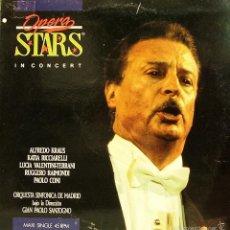 Discos de vinilo: ALFREDO KRAUS-OPERA STARS MAXI SINGLE VINILO 1990 SPAIN. Lote 222430435