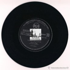 Discos de vinilo: ELVIS PRESLEY - PERRO DE CAZA - HOUND DOG - NO SEAS CRUEL - DON´ T BE CRUEL - RCA - 1958 - B. ESTADO. Lote 55316315