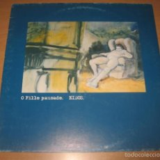 Discos de vinilo: LP O FILLO PAUSADO EIDOS - TOXIC RECORDS AÑO 1998 EDICION LIMITADA 500 Nº 240. Lote 55317673