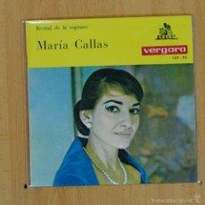Discos de vinilo: MARIA CALLAS - LA TRAVIATA + 3 - EP. Lote 55319134