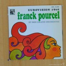 Discos de vinilo: FRANCK POURCEL - CONGRATULATIONS + 3 - EP. Lote 55319165