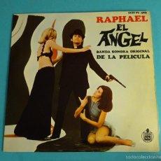 Discos de vinilo: RAPHAEL. BANDA SONORA ORIGINAL DE LA PELÍCULA EL ÁNGEL. Lote 55321208