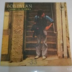 Discos de vinilo: BOB DYLAN.CAMBIO DE GUARDIA.SINGLE.ESPAÑA 1978.CBS. . Lote 55321581