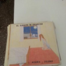 Discos de vinilo: EL EJÉRCITO DE SALVACIÓN CANCIONES DE MISERIA Y SOLEDAD 1991 ED. ORIGINAL. Lote 55324293