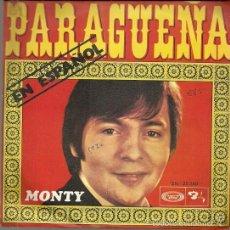Discos de vinilo: MONTY CANTA EN ESPAÑOL SINGLE SELLO MOVIEPLAY AÑO 1970 EDITADO EN ESPAÑA . Lote 55325684