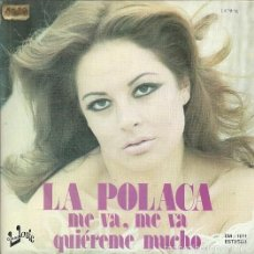 LA POLACA SINGLE SELLO EUROMUSIC AÑO 1977 EDITADO EN ESPAÑA