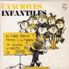 Discos de vinilo: CORO DE LAS ESCUELAS AVEMARIANAS,EL BURRO PERICO Y OTRAS MAS DEL 69 DISCO REGALO PROMO. Lote 55327723