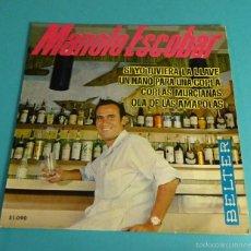 Discos de vinilo: MANOLO ESCOBAR. BELTER. Lote 55328991