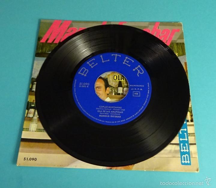 Discos de vinilo: MANOLO ESCOBAR. BELTER - Foto 3 - 55328991