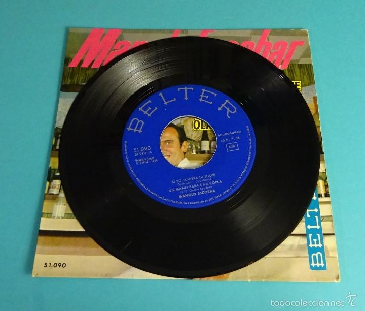 Discos de vinilo: MANOLO ESCOBAR. BELTER - Foto 4 - 55328991