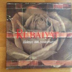 Discos de vinilo: VV.AA: RUBÁIYÁT. ELEKTRA'S 40TH ANNIVERSARY (4LP). Lote 55331811