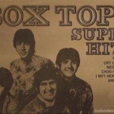 Discos de vinilo: LP-THE BOX TOPS SUPER HITS STEATSIDE 062 90275 SPAIN 1969. Lote 55338777