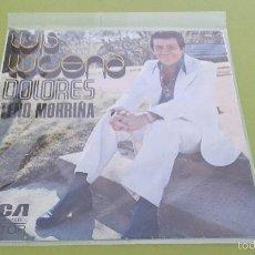 Discos de vinil: LUIS LUCENA - DOLORES / TEÑO MORRIÑA (RCA SINGLE 1974) ESPAÑA. Lote 55338819
