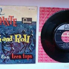 Discos de vinilo: LOS TEEN TOPS - EL ROCK DE LA CARCEL / CONFIDENTE DE SECUNDARIA / LA PLAGA / BUEN ROCK... (EP 1960). Lote 55340314
