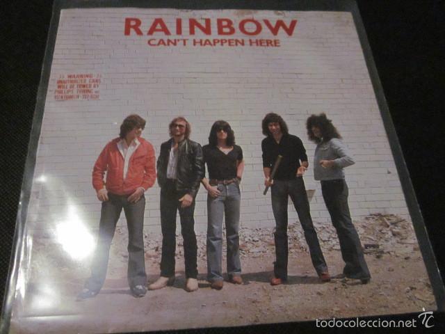 RAINBOW - CAN'T HAPPEN HERE - SN - EDICION INGLESA DEL AÑO 1981. (Música - Discos - Singles Vinilo - Heavy - Metal)