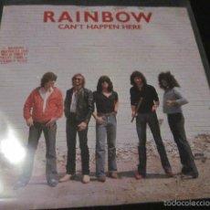 Discos de vinilo: RAINBOW - CAN'T HAPPEN HERE - SN - EDICION INGLESA DEL AÑO 1981.. Lote 55340705