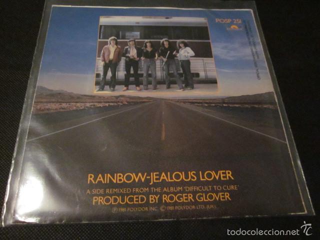Discos de vinilo: RAINBOW - CANT HAPPEN HERE - SN - EDICION INGLESA DEL AÑO 1981. - Foto 2 - 55340705