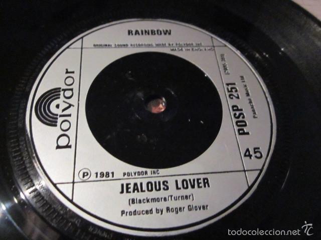 Discos de vinilo: RAINBOW - CANT HAPPEN HERE - SN - EDICION INGLESA DEL AÑO 1981. - Foto 4 - 55340705