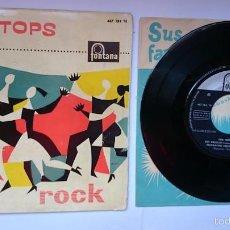 Discos de vinilo: LOS TEEN TOPS - REY CRIOLLO / MUCHACHO TRISTE Y SOLITARIO / TUTTI FRUTI / LUCILA (EP 1961). Lote 55340718