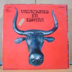 Discos de vinilo: TUSET STREET / LOS MUSTANG / LOS AMAYA / AQUARIUS Y MAS - VACACIONES EN ESPAÑA - EMIDISC - 1972. Lote 55342617