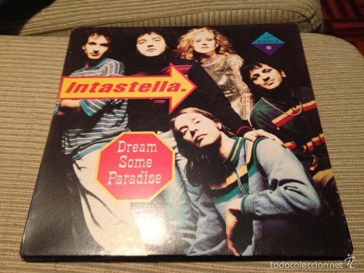 INTASTELLA - DREAM SOME PARADISE - MAXI UK 1991 MCA - INDIE ROCK (Música - Discos de Vinilo - Maxi Singles - Pop - Rock Extranjero de los 90 a la actualidad)