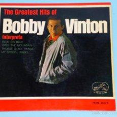 Discos de vinilo: THE GREATEST HITS OF BOBBY VINTON 81963). Lote 55344323