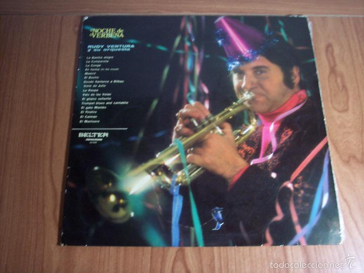 LP RUDY VENTURA Y SU ORQUESTA (NOCHE DE VERBENA) - BELTER-1970 (Música - Discos - LP Vinilo - Grupos Españoles de los 70 y 80)