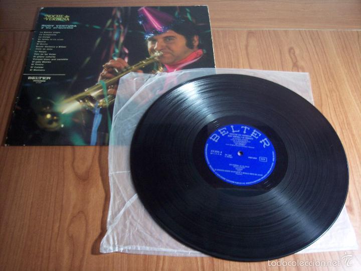 Discos de vinilo: LP RUDY VENTURA Y SU ORQUESTA (NOCHE DE VERBENA) - BELTER-1970 - Foto 2 - 55346719