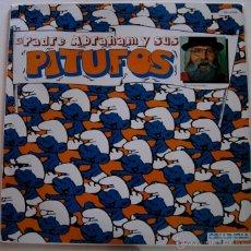 Discos de vinilo: EL PADRE ARAHAM Y SUS PITUFOS - SPAIN 1979. Lote 55347595