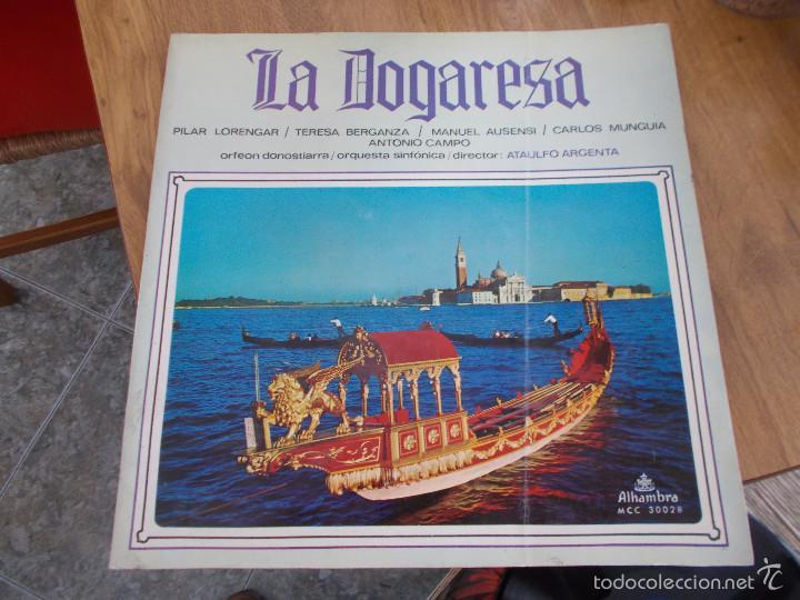 LA DOGARESA. CON LIBRETO (Música - Discos - LP Vinilo - Clásica, Ópera, Zarzuela y Marchas)