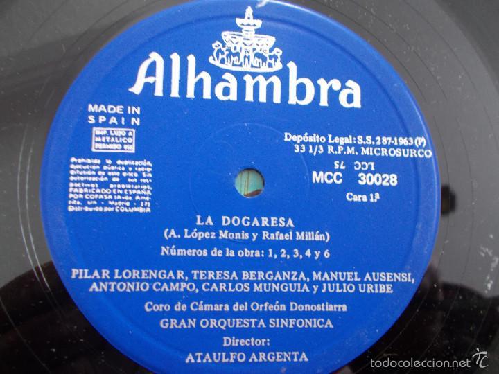 Discos de vinilo: LA DOGARESA. CON LIBRETO - Foto 8 - 55347975