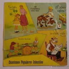 Discos de vinilo: CANCIONES POPULARES INFANTILES - COLUMBIA - EDGE 70631. Lote 55350871