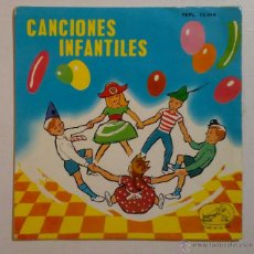 Discos de vinilo: CANCIONES POPULARES INFANTILES. Lote 55350881