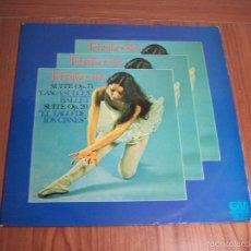 Discos de vinilo: LP TCHAIKOVSKY (CASCANUECES / EL LAGO DE LOS CISNES) GRAMUSIC-1974. Lote 130034771