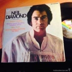 Discos de vinilo: NEIL DIAMOND (BROTHER LOVE'S TRAVELLING SALVATION SHOW) LP ESPAÑA 1982 (VIN22). Lote 256065885