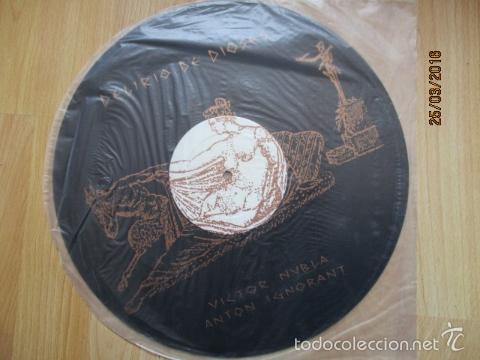 VICTOR NUBLA / ANTON IGNORANT - DELIRIO DE DIOSES (Música - Discos - LP Vinilo - Electrónica, Avantgarde y Experimental)