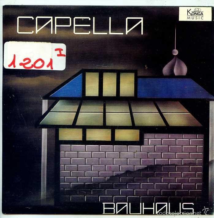 CAPELLA / BAUHAUS (SINGLE PROMO 1988) (Música - Discos - Singles Vinilo - Techno, Trance y House)