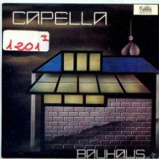 Disques de vinyle: CAPELLA / BAUHAUS (SINGLE PROMO 1988). Lote 55354924