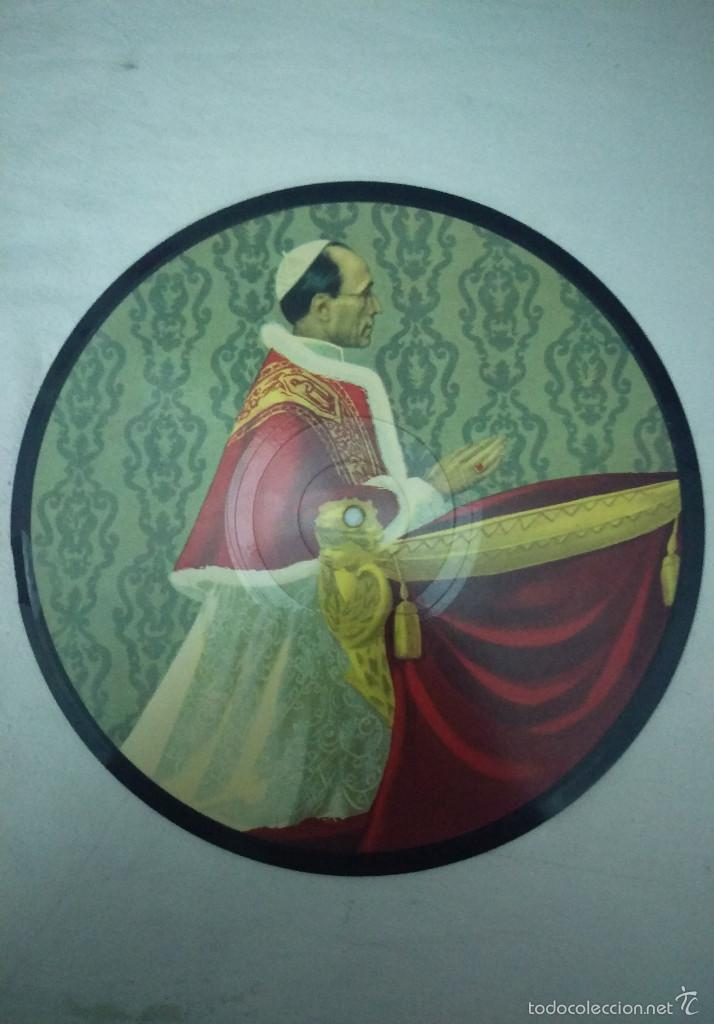 DISCO AÑO SANTO 1950 PIO XII CHANTEZ LE ROI DES CIEUX (Música - Discos de Vinilo - Maxi Singles - Otros estilos)