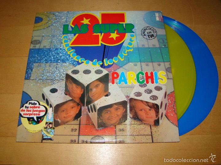 PARCHÍS - LAS 25 SUPER CANCIONES DE LOS PEQUES (Música - Discos - LPs Vinilo - Música Infantil)
