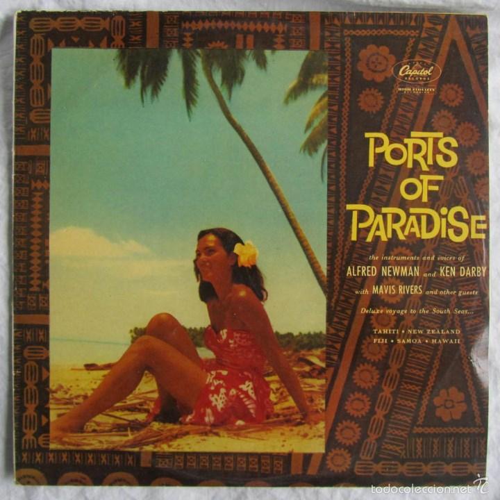 PORTS OF PARADISE ALFRED NEWMAN & KEN DARBY 1961 (Música - Discos - LP Vinilo - Orquestas)