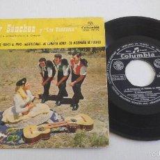 Discos de vinilo: MARY SANCHEZ Y LOS BANDAMA .SI CONMIGO TE VIENES AL PINO + 3.-EP.COLUMBIA 1959. Lote 55358338