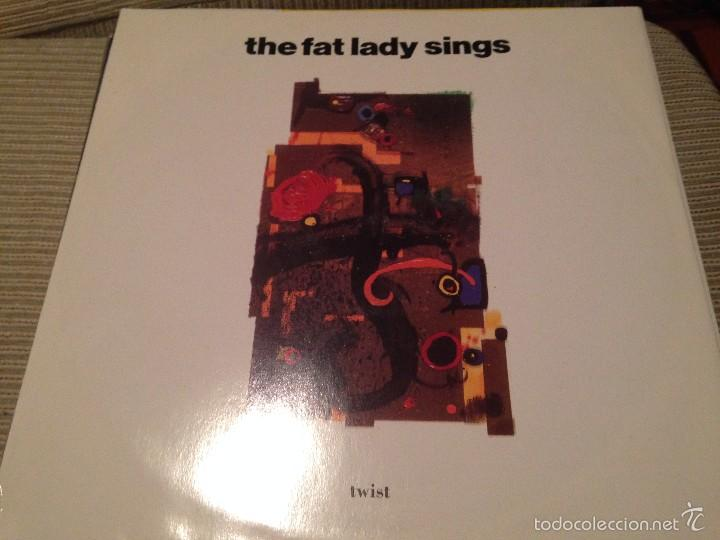 FAT LADY SINGS - TWIST - MAXI UK EAST WEST 1991 - INDIE POP (Música - Discos de Vinilo - Maxi Singles - Pop - Rock Extranjero de los 90 a la actualidad)