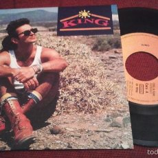 Dischi in vinile: KING - ALONE WITHOUT YOU (1985). Lote 55362699