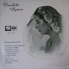 Discos de vinilo: CONCHITA PIQUER - SUS GRANDES EXITOS - EDICIÓN DE 1958 DE ESPAÑA - 10 PULGADAS. Lote 55363052
