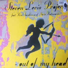 Discos de vinilo: STEVEN LEVIS PROJECT FEAT. KIM SANDERS / OUT OF MY HEAD . MAXI SINGLE . 1995 DANCE POOL . GERMANY. Lote 207722662