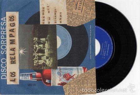 DISCO FUNDADOR - LOS RELAMPAGOS - RELAMPAGOS+ASTER NOVA+DIAMONDS+ESTEPAS - EP1966 (Música - Discos de Vinilo - EPs - Grupos Españoles 50 y 60)