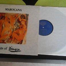 Discos de vinilo: LP MAROCANA PORTRAITS OF PICASSO. Lote 55366922