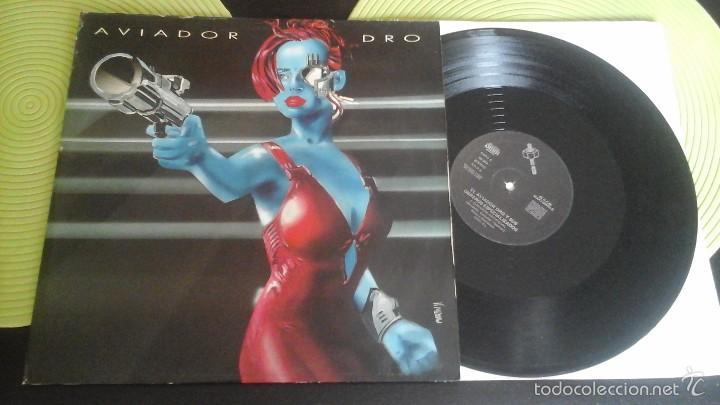 MAXI AVIADOR DRO CORAZÓN ARTIFICIAL (Música - Discos - LP Vinilo - Grupos Españoles de los 70 y 80)